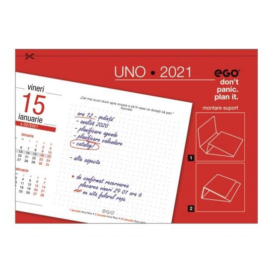 Calendar de birou UNO 2021
