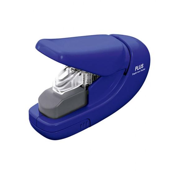 Capsator fara capse Plus, 5 coli - albastru