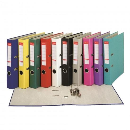 Biblioraft Esselte Economy, 50 mm, Diverse culori