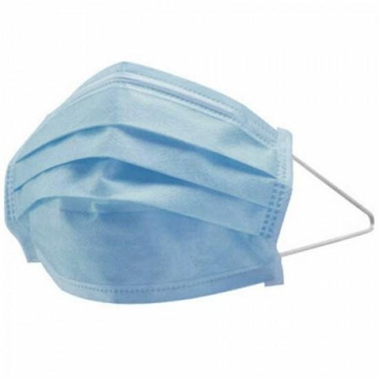 Set 50 bucati Masca de protectie de unica folosinta 3 straturi, 3 pliuri - TRANSPORT GRATUIT
