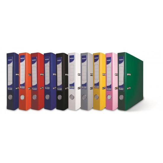 Biblioraft plastifiat Noki, 5.5 cm, diverse culori