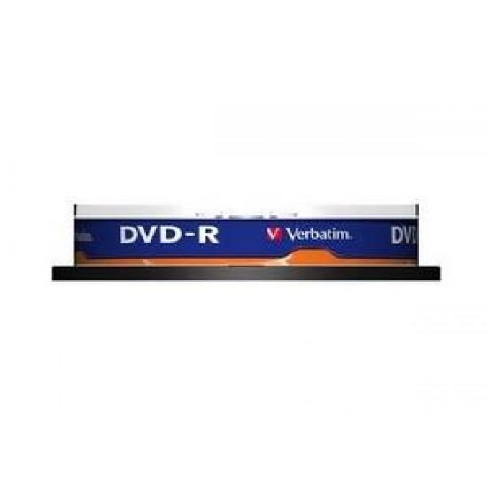 DVD-R, 4.7GB, 16X, 10 buc/bulk, VERBATIM Matt Silver