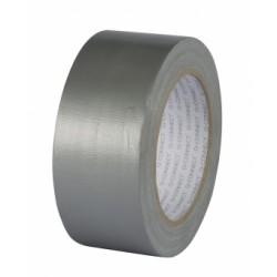 Banda adeziva duct tape, 48mm x 25m, Q-Connect - argintie