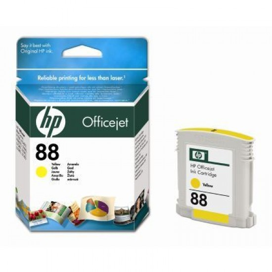 CARTUS YELLOW VIVERA NR.88 C9388AE 9ML ORIGINAL HP OFFICEJET PRO K550
