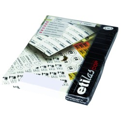Etichete autoadezive albe rotunde (D63,5), 12/A4, 100 coli/top, ETILASCOP