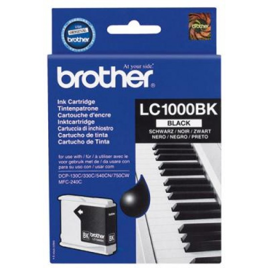 CARTUS BLACK LC1000BK ORIGINAL BROTHER MFC 5460CN