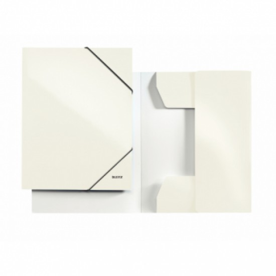Mapa carton cu elastic LEITZ Wow - metalizat