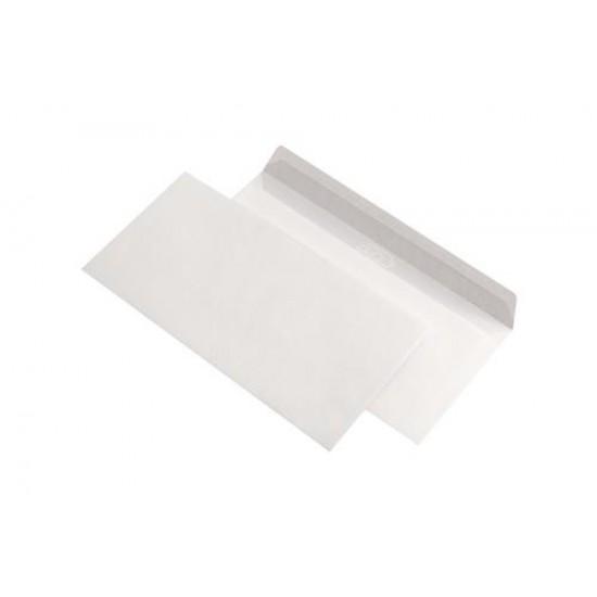 Plic C7, dimensiuni 110 x 220mm, siliconic, alb, gramaj 80 g/mp, fara fereastra