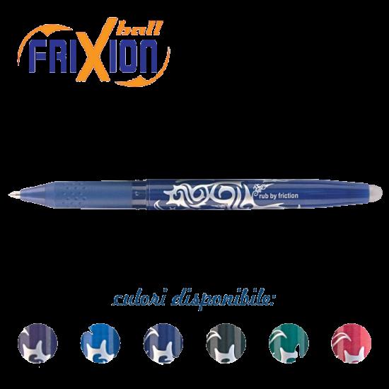 Roller Pilot Frixion Ball 0.7mm, albastru