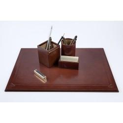 Set de birou din piele, Classic mediu