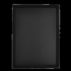 Tabla pentru creta, rama din lemn negru, 60 x 80cm, SECURIT Universal
