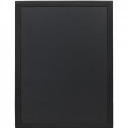 Tabla pentru creta, rama din lemn negru, 70 x 90cm, SECURIT Universal