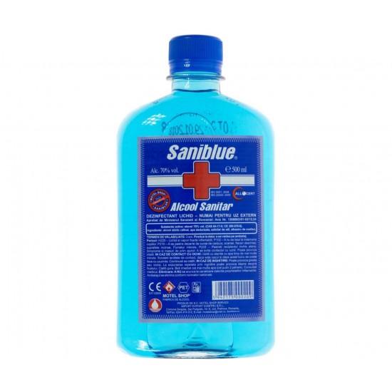 Alcool sanitar (alcool 70%) , 500ml, Saniblue